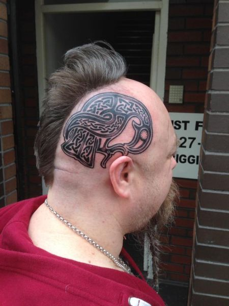 Got to do this head tattoo this week:)! Was well fun !!!! Adamx: Swipe To View More Images