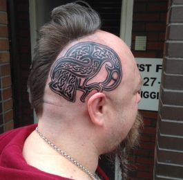 Got to do this head tattoo this week:)! Was well fun !!!! Adamx: Click Here To View Larger Image